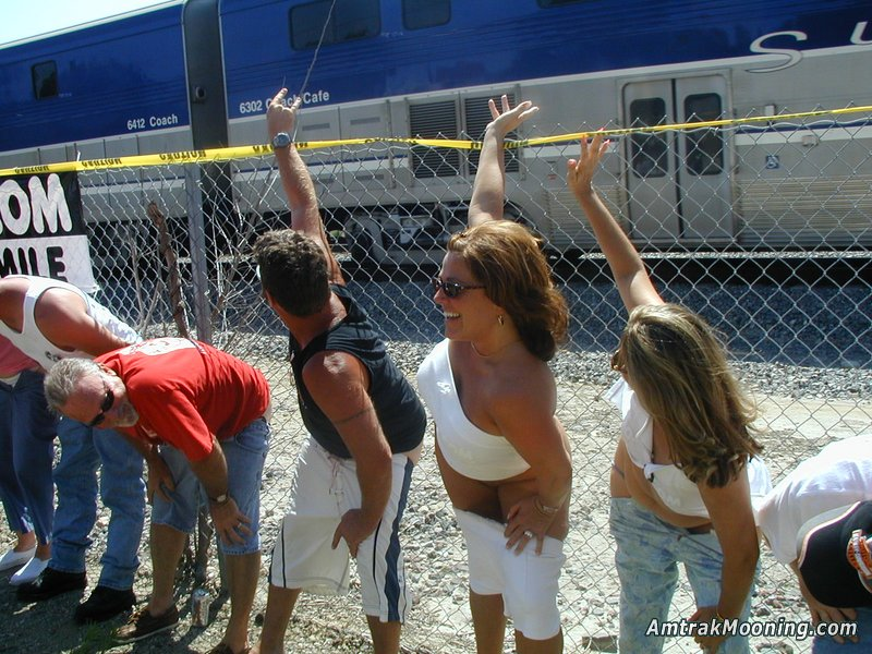 Amtrak Mooning Pictures - Miscellaneous